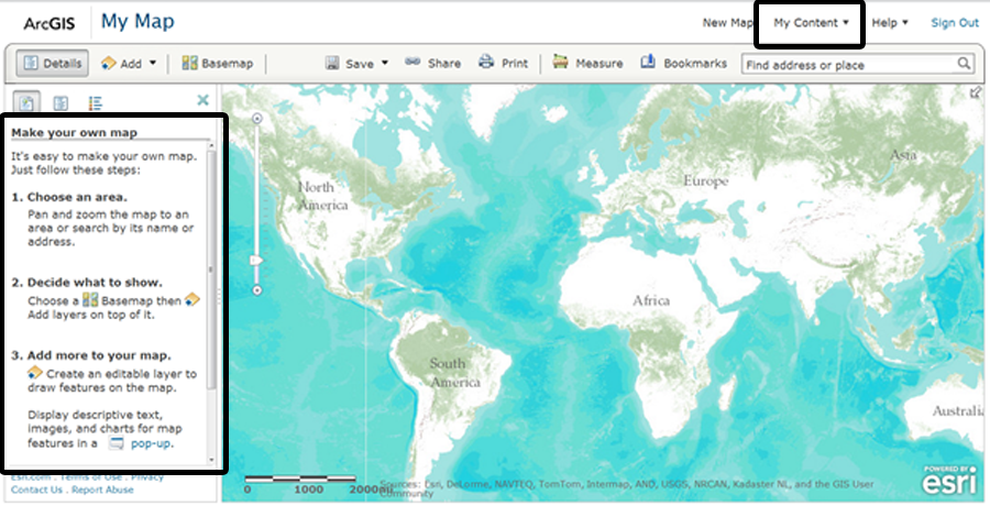Earthbound Geospatial | Add your data to ArcGIS com and